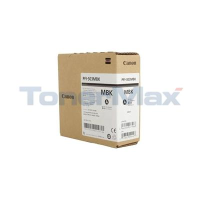 CANON IPF820 PFI-303MBK INK TANK MATTE BLACK 330ML